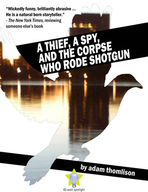 a thief, a spy, and the corpse who rode shotgun